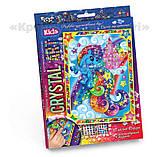 Алмазная мозаика (детская серия) Пони синяя (CArt-01-08), фото 2