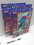 Алмазная мозаика (детская серия) Пони синяя (CArt-01-08), фото 3