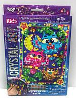 Алмазная мозаика (детская серия) Три совы (CArt-01-09)