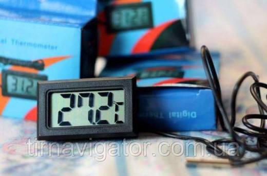 Термометр врезной до +100*С (ЖК-индикатор)