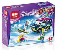 """Конструктор Lepin 01049 """"Горнолыжный курорт: внедорожник"""" (аналог LEGO Friends 41321), 152 дет"""