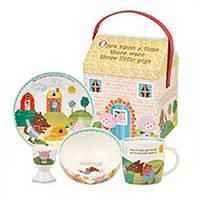 Набор детский в подарочной упаковке, 4 предмета (THRE00061)