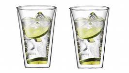 Набор стаканов с двойными стенками, 0,4 л, 2 шт (10110-10)