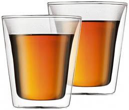 Набор стаканов с двойными стенками, 0,2 л, 2 шт (10109-10)