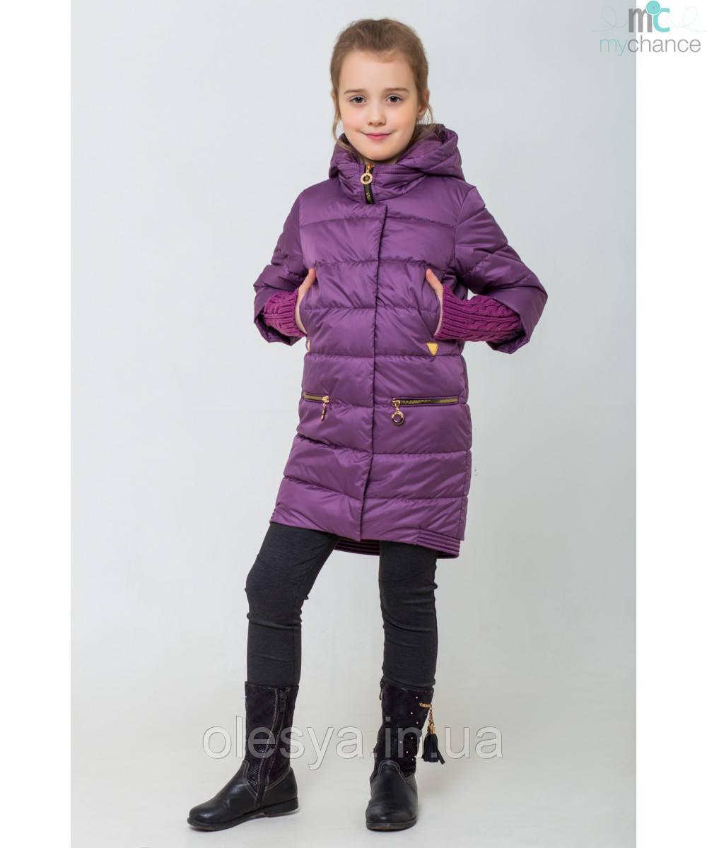 Демисезонная курточка на девочку Юлианна Размеры 122- 158