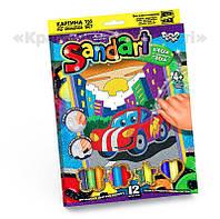 Картинка из песка 'Sand Art' Машинка (SA-01-01)