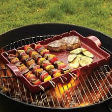 Гриль для мяса и овощей, 42x25 см (347542)