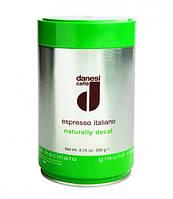 Кофе Decaf в зернах 0,25 кг, жестяная банка (2010045)