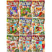 Аппликация цветной фольгой по номерам Foil art FAR01/01-10