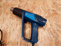 Фен промышленный ПМЗ Ворскла Полтава Модель 2000/3 Три скорости подачи воздуха и температуры D-образная ручка для удобной работы