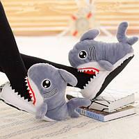 Плюшевые Тапочки Акула