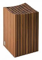 Блок для ножей деревянный, возможность хранения до 12 предметов (7262)