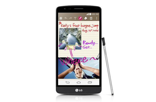 LG анонсувала старт продажів G3 Stylus