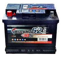 Аккумулятор автомобильный BlackMax 62А Ев (-/+) B5005 (580EN) Плюс справа