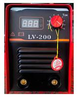 Инверторный сварочный аппарат Edon LV-200 Электронный индикатор тока  !!! При оплате на карту -- для Вас ОПТОВАЯ ЦЕНА