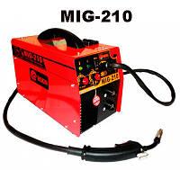 Полуавтомат сварочный Edon MIG-210 Инверторный сварочный полуавтомат + Сварка Электродами в Комплекте  + !!! ПОДАРОК НА ВЫБОР