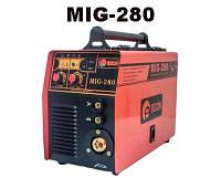 Полуавтомат сварочный  MIG-280 Инверторный сварочный полуавтомат + Сварка Электродами в Комплекте + Еврорукав в Комплекте  !!! При оплате на карту --
