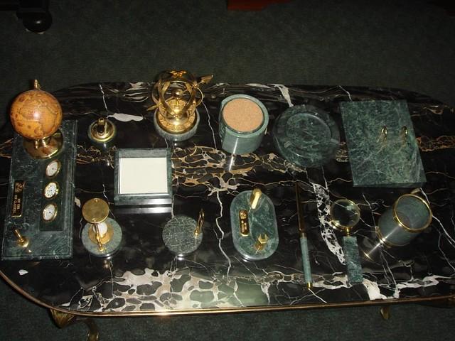 Письменный  набор на стол начальника
