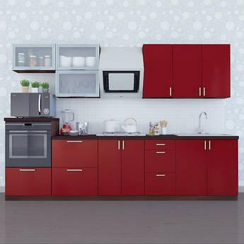 "Кухня ""МоДа"" комплект 3.0 м"