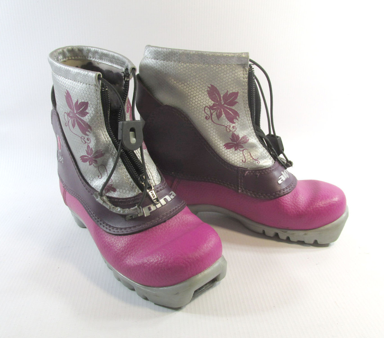 Ботинки кроссовки лыжные FROST, 33 (20.5 см), Утепленные, Хор сост!