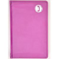 "Алфавитная книжка Leo planner 251418 пурпурный 111х171мм 112ар ""Vogue"""