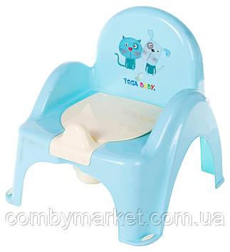 Горшок-кресло Tega Cat & Dog