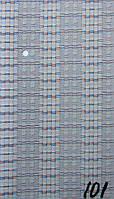 Вертикальные жалюзи 89 мм ткань Эдем Голубой