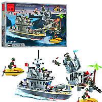 Конструктор Brick Enlighten Combat zone, Военный Корабль, 505 дет., 819, 006759, фото 1