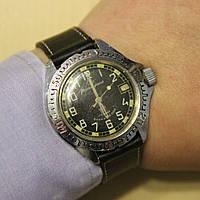 Командирские Восток механические часы СССР , фото 1