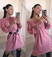"""Платье стильное женское (44-48) """"Meri"""" купить оптом со склада LM-869"""