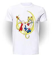 Футболка GeekLand Сейлор Мун Sailor Moon Банни art SM.01.001