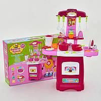 "Кухня детская 2728 L свет, звук, на батарейках, в коробке ""FUN GAME"""