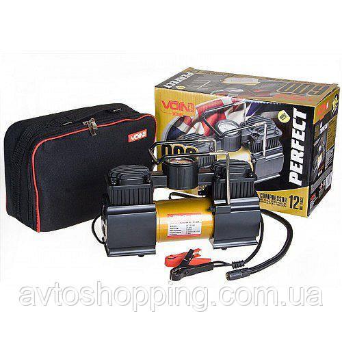 Автомобильный компрессор Voin VP-600, 50 л мин, 27А, 10 Атм, 12 В