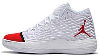 Баскетбольные кроссовки Nike Jordan Melo M13 White Найк Аир Джордан 13 белые, фото 1
