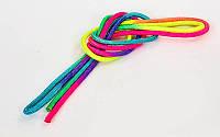 Скакалка для художественной гимнастики l-3м Радуга C-6270. Распродажа!