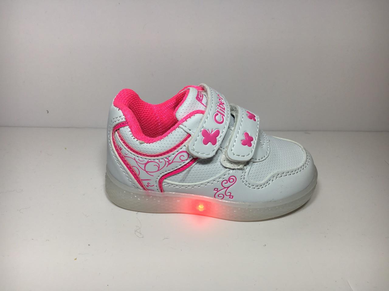83d99ca2 Детские кроссовки Clibee Польша (светодиоды) , размеры 21-26 - Детская  одежда и