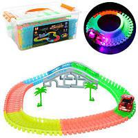 Светящийся трек Rail Stunt Car