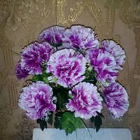 Букет искусственных цветов Гвоздика