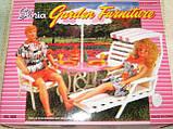Кукольная мебель Глория Gloria 3920 Садовая мебель Пикник или Дача, фото 4