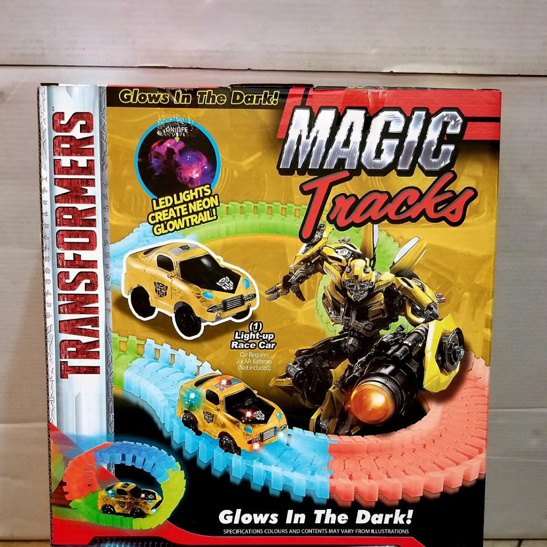 Дорога Трансформер трек 170212 D Magic Tracks – новинка 320 деталей, гнучка Світна гоночна траса