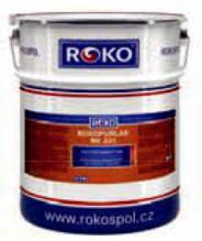 Лак Rokopur lak RK 201 полиуретановый двухкомпонентный, пр-во Чехия (комплект 3кг+1 кг)