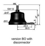 Ограничитель перенапряжения ASA-A 500-10BO+K
