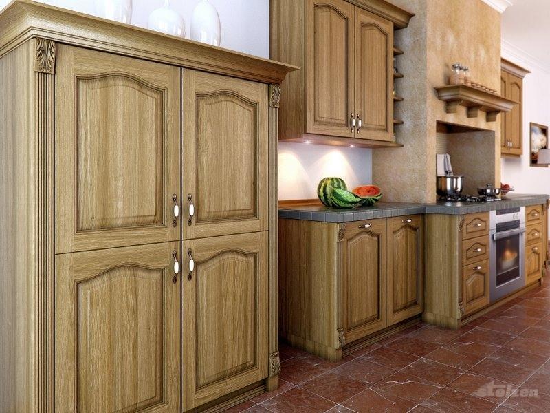 Кухни из дерева цена, натуральный массив недорого