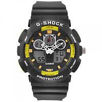 Часы наручные G-SHOCK GA-100B подсветка 7 цветов (Тех.Пакет)