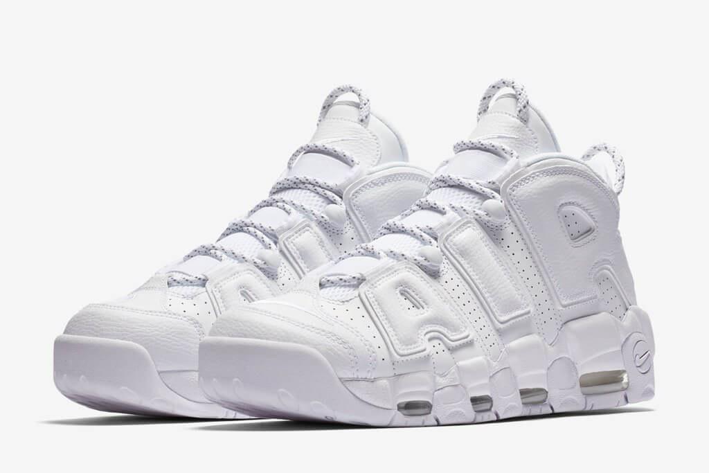 407de4347689 Nike Air More Uptempo Triple White. Кроссовки Nike Air Force. Качественные  кроссовки. Большой