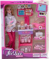 Детский набор врача с куклой JX100-23