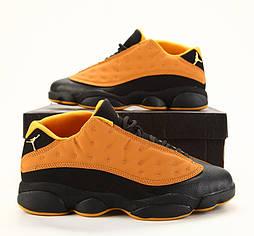 Кроссовки Nike Air Jordan 13 Retro Low Chutney Chutney Black. Живое фото (Реплика ААА+)