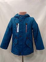 Детская демисезонная  курточка  для мальчика размер 104-110-116-122 маломерят на один размер