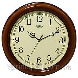 Часы настенные Rikon Pl Wood круглые, d 300мм