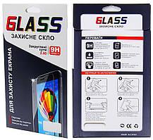Meizu M5 / M5 Mini захисне скло 0.15 мм, 3D Fiber чорне